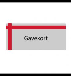 Gavekort 100,- Mail - Fiske Tilbehør