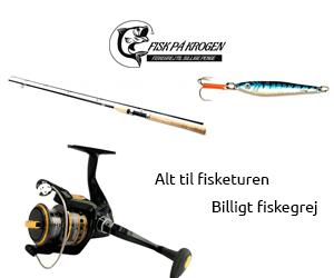 Se mere fiskeudstyr hos fiskpaakrogen.dk